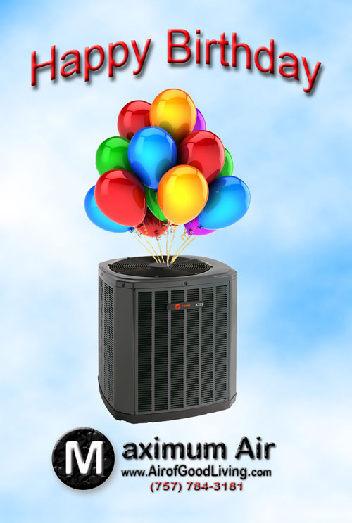 Birthday Discounts for Your HVAC